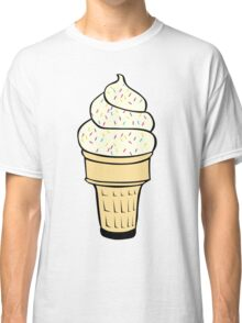 Ice Cream With Sprinkles Classic T-Shirt