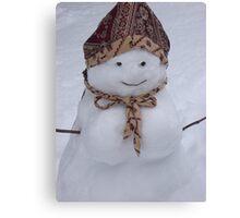 Snow Woman  Canvas Print