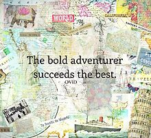 Adventure travel quote by goldenslipper
