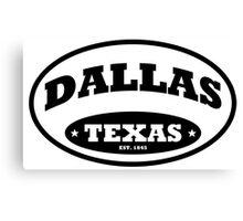 Dallas Texas Canvas Print