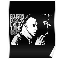 Christopher Hitchens - Religion Poster