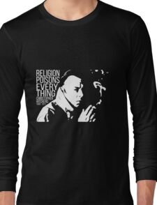 Christopher Hitchens - Religion Long Sleeve T-Shirt