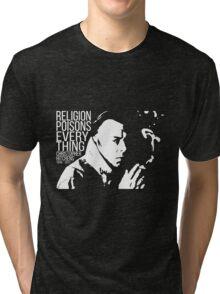 Christopher Hitchens - Religion Tri-blend T-Shirt