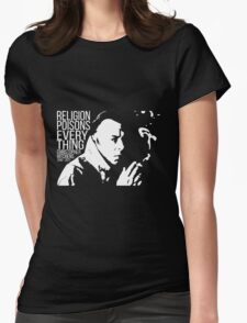 Christopher Hitchens - Religion Womens Fitted T-Shirt