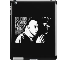 Christopher Hitchens - Religion iPad Case/Skin