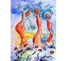 Tree Dancers Photographic Print