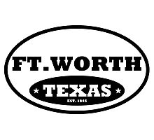 Ft Worth Photographic Print