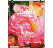 Roses - Verse iPad Case/Skin