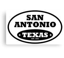 San Antonio Canvas Print