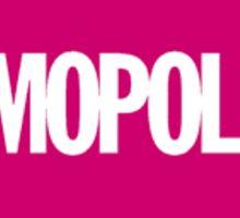 Cosmopolitan Logo Sticker