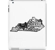 Kentucky Zentangle iPad Case/Skin