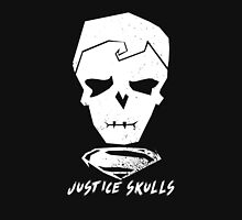 Justice Skulls: The Steel Unisex T-Shirt