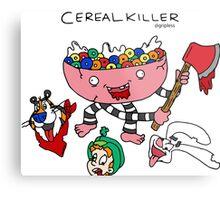 cereal killer Metal Print