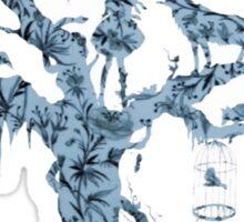 Floral Fairy Tale Tree Sticker