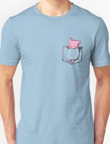Mew Sleeping in Pocket Unisex T-Shirt