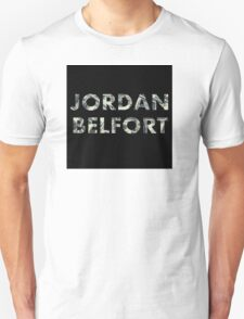 Jordan Belfort : Wolf of Wall Street T-Shirt