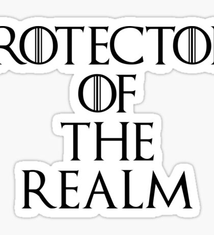 Protector Of The Realm Sticker
