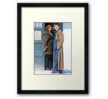 DoctorDonna Framed Print