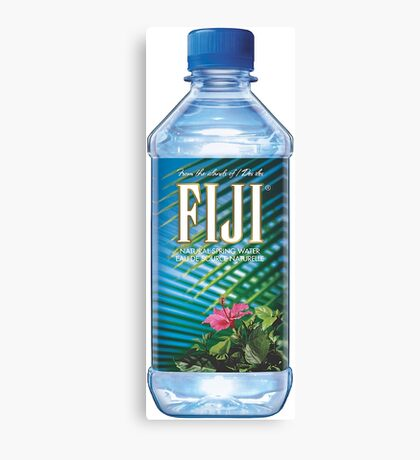 Fiji Bottle HQ Canvas Print