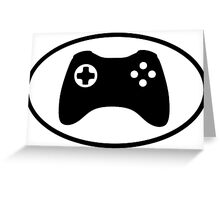 Game Controller Greeting Card