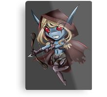 Tiny Queen of the Undead Metal Print