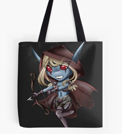 Tiny Queen of the Undead Tote Bag