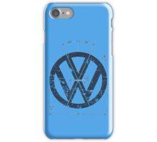 VW Old School Logo iPhone Case/Skin