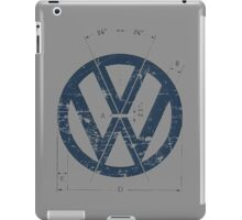 VW Old School Logo iPad Case/Skin