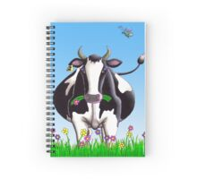 Dairy Cow Spiral Notebook