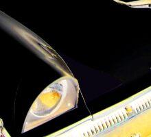 1956 Mercury Monterey SPORTS SEDAN BLACK N RED N GOLD Sticker