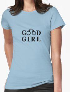 Good Girl Cuffs - love funny erotic art, kinky fun t-shirts valentine new cool birthday T-Shirt
