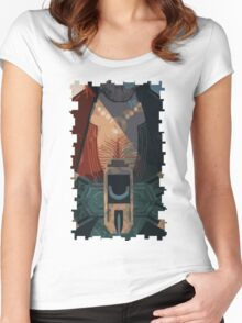 Varric Tarot Card Women's Fitted Scoop T-Shirt