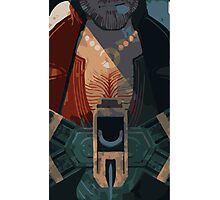 Varric Tarot Card Photographic Print