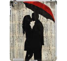 rainy day love iPad Case/Skin