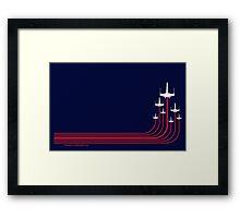 Rogue Squadron Framed Print