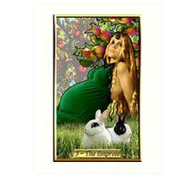 The Banx Tarot Empress Art Print