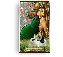 The Banx Tarot Empress Canvas Print