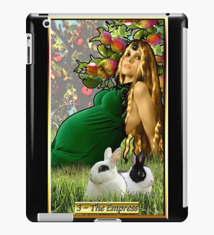 The Banx Tarot Empress iPad Case/Skin