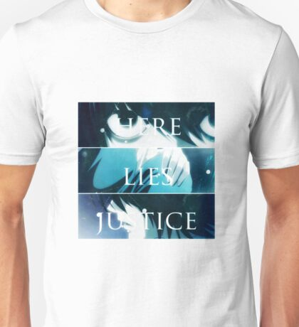 Death Note K - TRUTH.LIES.JUSTICE Unisex T-Shirt