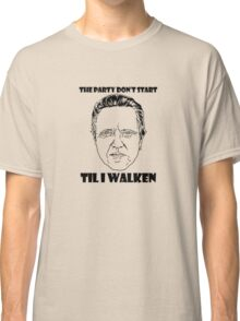 Funny Walken - love black white perfect quote cute fun awesome cool parody Classic T-Shirt