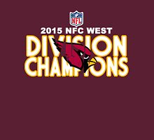Arizona Cardinals - 2015 NFC West Division Champions Unisex T-Shirt