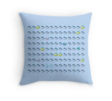 The Under Water World Throw Pillow