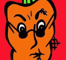 Rocker Carrot Sticker