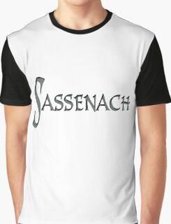 """"""" Sassenach """" Outlander Gaelic Words  Graphic T-Shirt"""