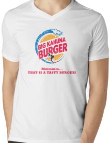 Big Kahuna Burger Mens V-Neck T-Shirt
