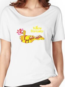 Yellow Serenity Women's Relaxed Fit T-Shirt