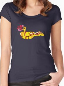 Yellow Serenity (no text) Women's Fitted Scoop T-Shirt