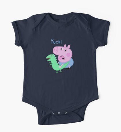 George Pig Yuck! from Peppa Pig Lunch One Piece - Short Sleeve