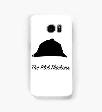 "Sherlock Holmes ""The Plot Thickens"" Samsung Galaxy Case/Skin"