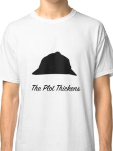 "Sherlock Holmes ""The Plot Thickens"" Classic T-Shirt"